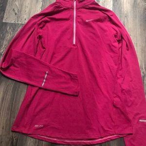 Women's Nike DRI-FIT quarter-zip pullover